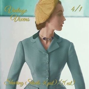 THURSDAY 4/1 Vintage Vixens Sign Up Sheet